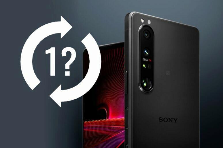 Sony Xperia 1 III podpora dva roky