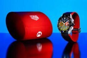 Tag Heuer Connected Super Mario hodinky