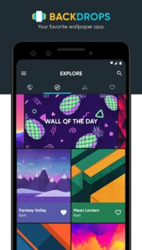 tapety Android backdrops