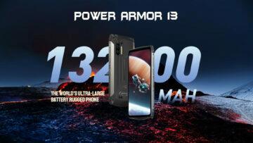 Ulefone Power Armor 13 13200mAh battery