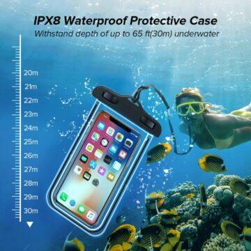 Univerzální vodotěsný obal do vody INIU IPX8
