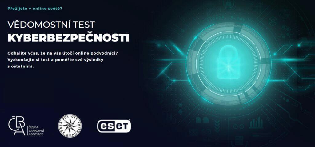 Vědomostní test bezpečnosti Kybertest ČR