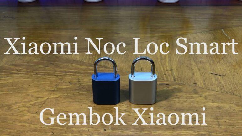 Xiaomi Noc Loc Smart Fingerprint Padlock IPX7 Waterproof/Gembok Tanpa Kunci/Cara penggunaan #Noc_Loc