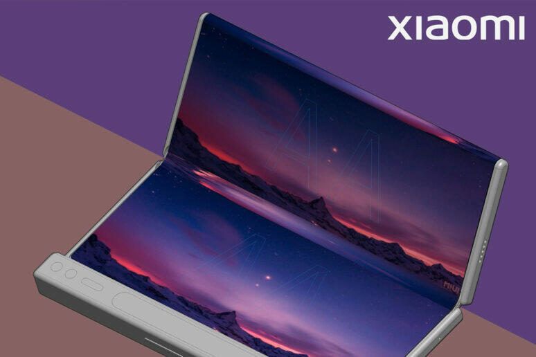 xiaomi ohebný telefon koncept
