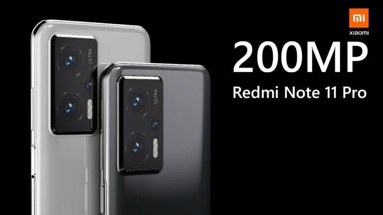 Xiaomi Redmi Note 11 Pro Trailer - 200MP Camera
