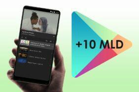 YouTube aplikace 10 miliard stažení Obchod Play Android