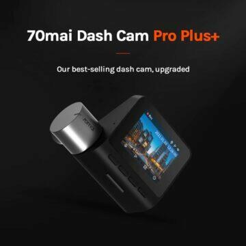 AliExpress kamera do auta 70mai A500S Dash Cam Pro Plus+
