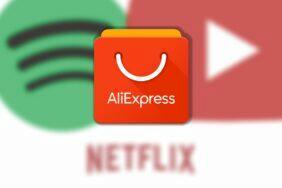 AliExpress levné premium Spotify Netflix YouTube
