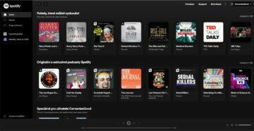 AliExpress levné premium Spotify Netflix YouTube - Spotify hlavní stránka