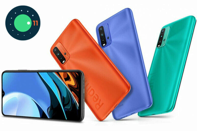 Android 11 Redmi 9T