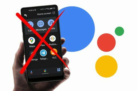 Android Auto for phone screens Google Asistent driving mode
