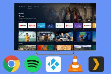 android tv aplikace