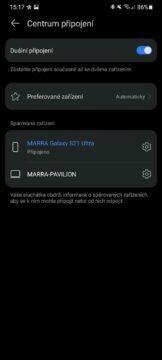 aplikace Huawei AI Life 3 centrum připojení
