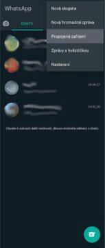 aplikace menu