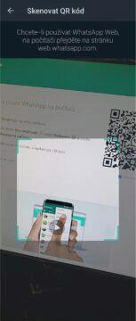 aplikace skenování