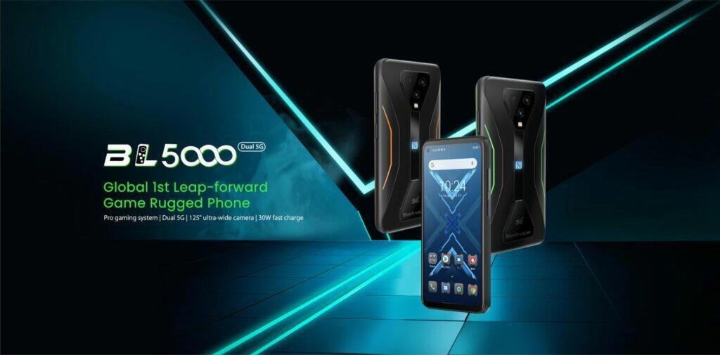 Blackview BL5000 herní odolný telefon plakát