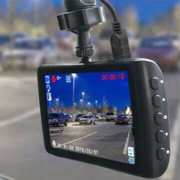 Deelife Dash Cam X4 displej