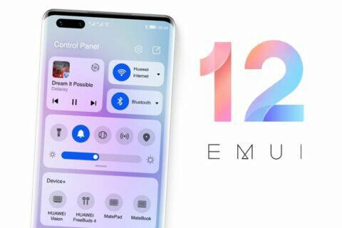 EMUI 12 novinky Huawei nadstavba