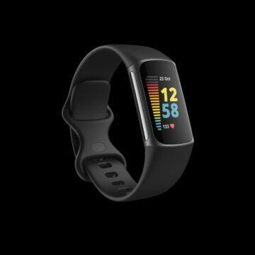 Fitbit Charge 5 grafit černá