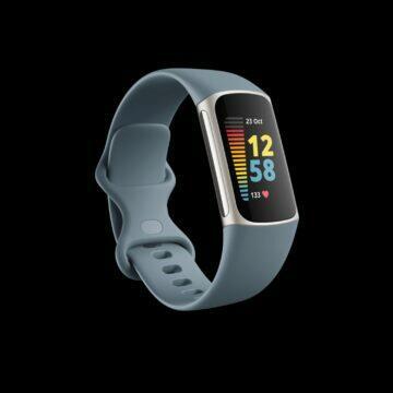 Fitbit Charge 5 modrá ocel