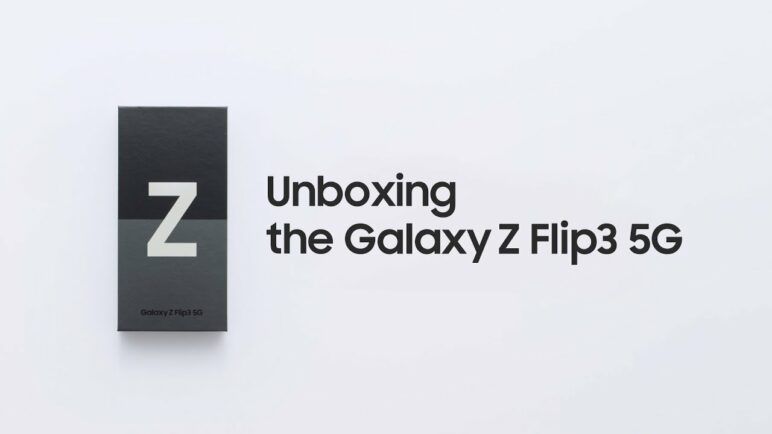 Galaxy Z Flip3: Official Unboxing | Samsung