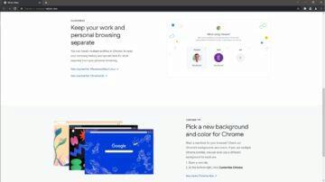 Google Chrome karta Novinky ukázka 2