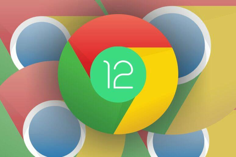 Google Chrome více oken Android 12