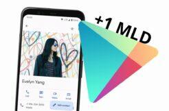 Google Kontakty miliarda stažení Obchod Play