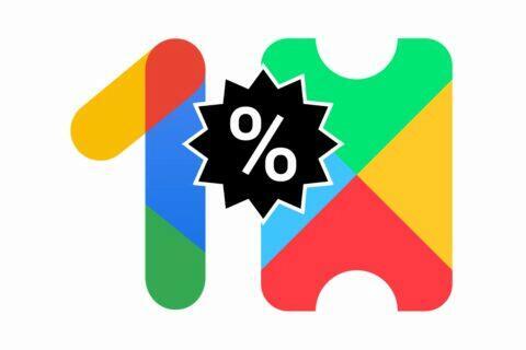 Google One Play Pass sleva