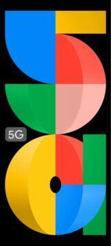 Google Pixel 5a tapety barevná