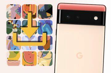 google pixel 6 tapety ke stazeni