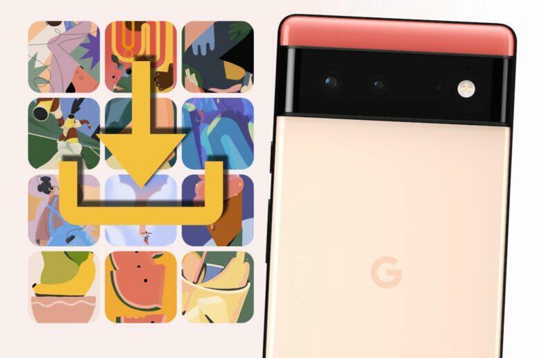 Google Pixel 6 tapety ke stažení