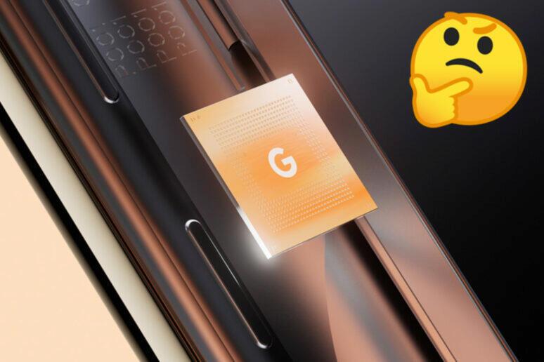 google tensor čipset