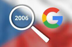 Google Trends vyhledávání Češi ČR Česko 2006