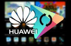 Huawei AppGallery rychlejší aktualizace Obchod Play