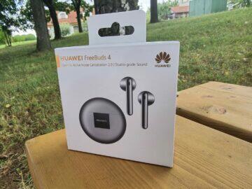 Huawei FreeBuds 4 recenze balení krabice