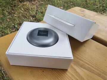 Huawei FreeBuds 4 recenze balení pouzdro