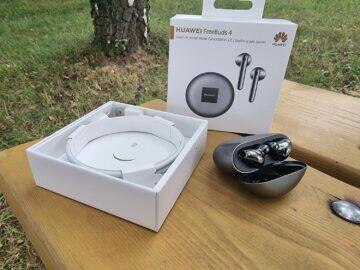 Huawei FreeBuds 4 recenze balení pouzdro kabel