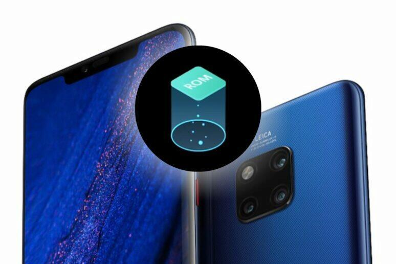 Huawei zvětšení úložiště
