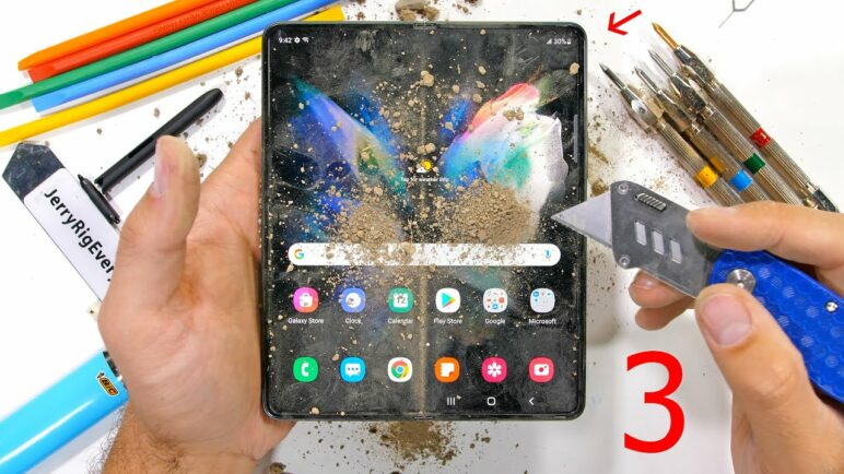 Is the Galaxy Fold 3 really 80% Stronger?! - Durability Test!