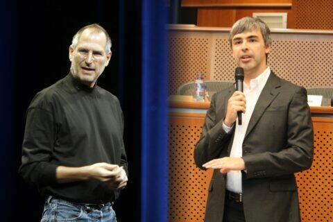 Larry Page Steve Jobs Android iOS Google Apple dohoda Epic Games soud