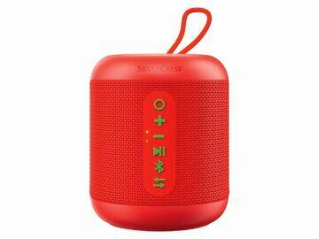 LIDL Shop SILVECREST Bluetooth reproduktor SLM 10 C1 červený