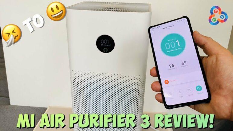 Mi Air Purifier 3 Review - LIFE CHANGER!