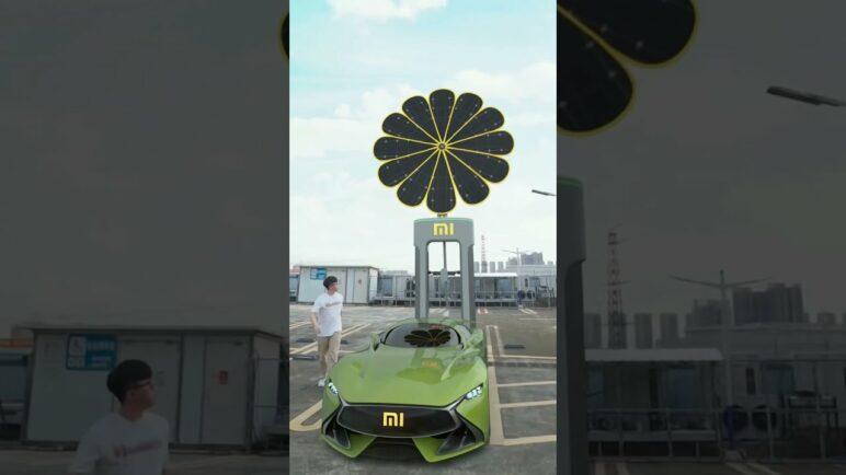 Mi Electric Cars - Solar Charging Station