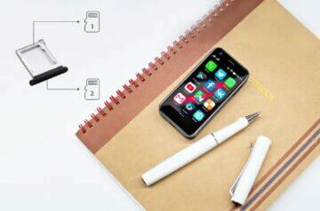 Mony Mint nejmenší 4G mobil zápisník