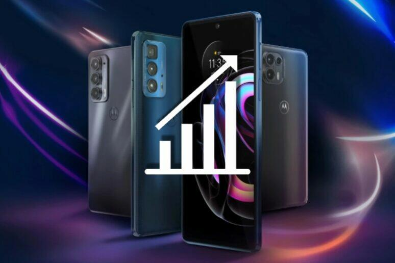 Motorola Q2 2021 prodejnost