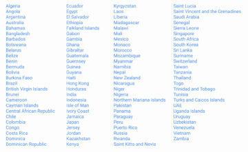 nahravani hovoru seznam podporovanych zemi