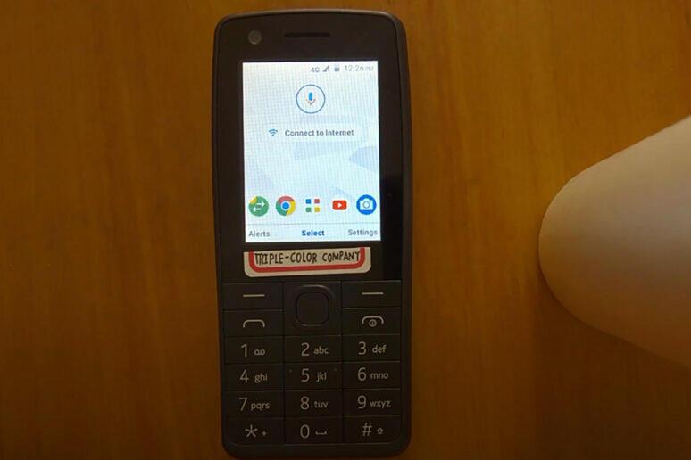 nokia 400 tlačítkový telefon s androidem