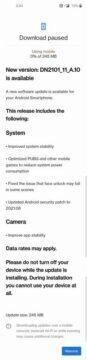Nová aktualizace OnePlus Nord 2 5G