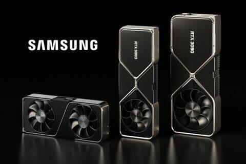 NVIDIA dražší grafické karty GPU Samsung